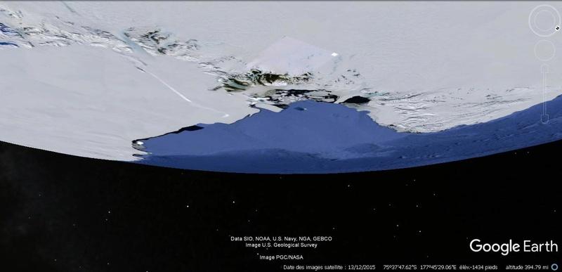 Activation des reliefs sur Google Earth 420
