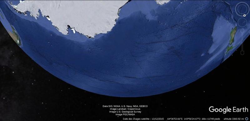 Activation des reliefs sur Google Earth 421