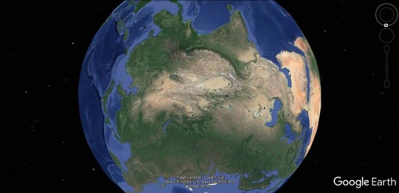 Activation des reliefs sur Google Earth 516