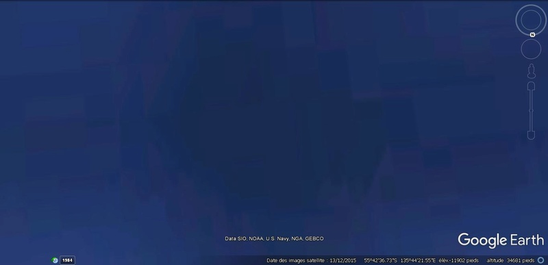 Activation des reliefs sur Google Earth 713