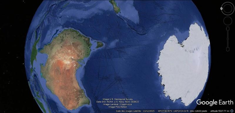 Activation des reliefs sur Google Earth 715