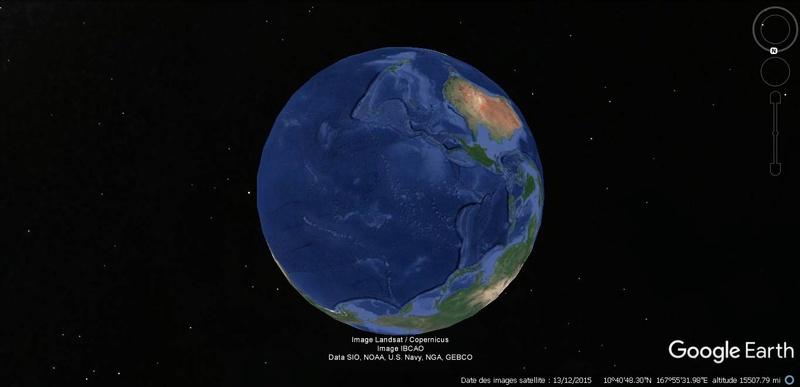 Activation des reliefs sur Google Earth Terre14