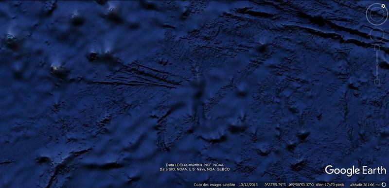 Activation des reliefs sur Google Earth Terre16
