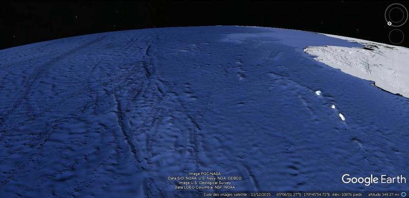Activation des reliefs sur Google Earth Terre18