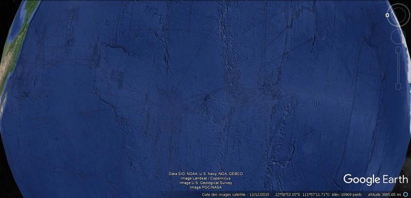 Activation des reliefs sur Google Earth Terre22