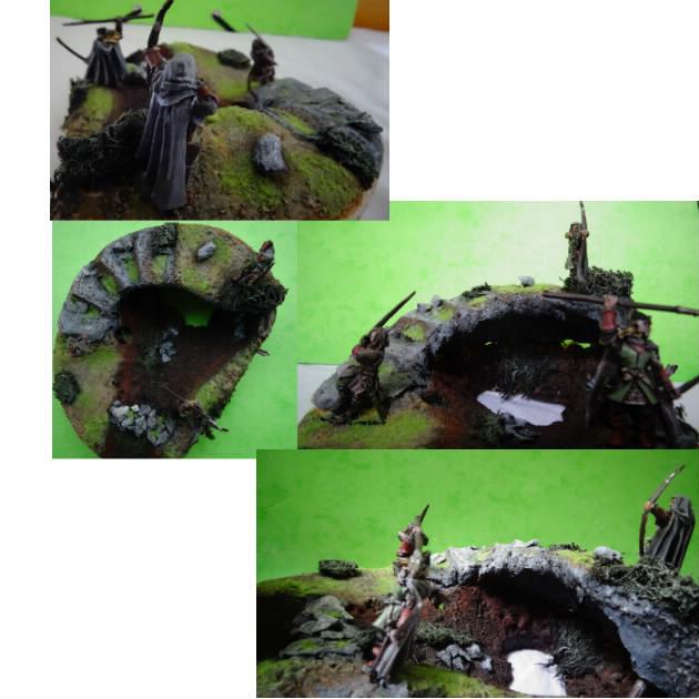 Concours de peinture sda n°5 [Aragorn et sa garde en dio] Bloggi15