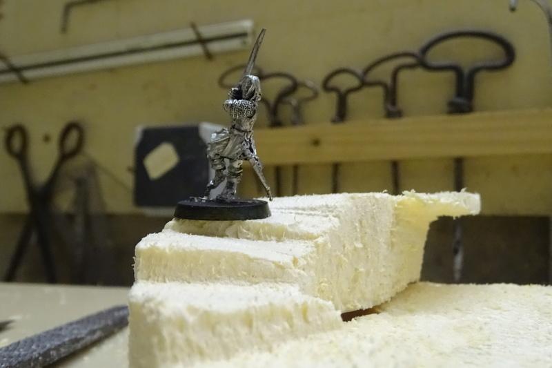 Concours de peinture sda n°5 [Aragorn et sa garde en dio] Dioram15