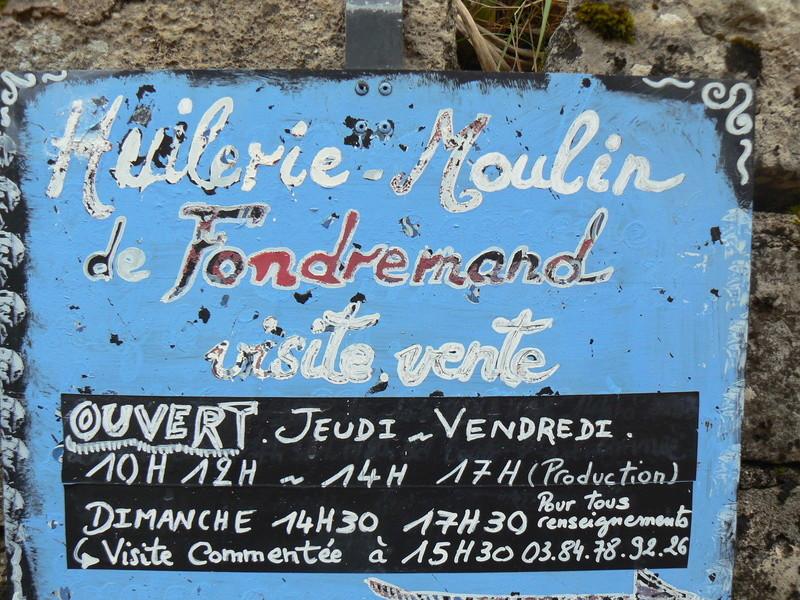 Journée Technique au moulin de FONDREMAND P1090810