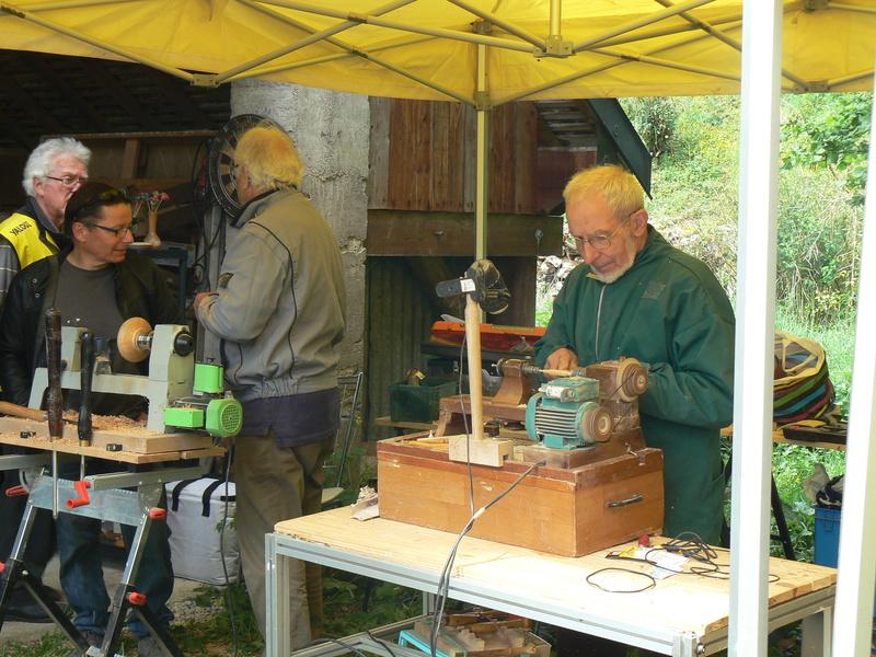 Journée Technique au moulin de FONDREMAND P1090818
