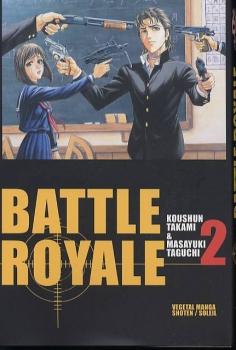 [Koushun Takami & Masayuki Taguchi] Battle Royale Couv3110