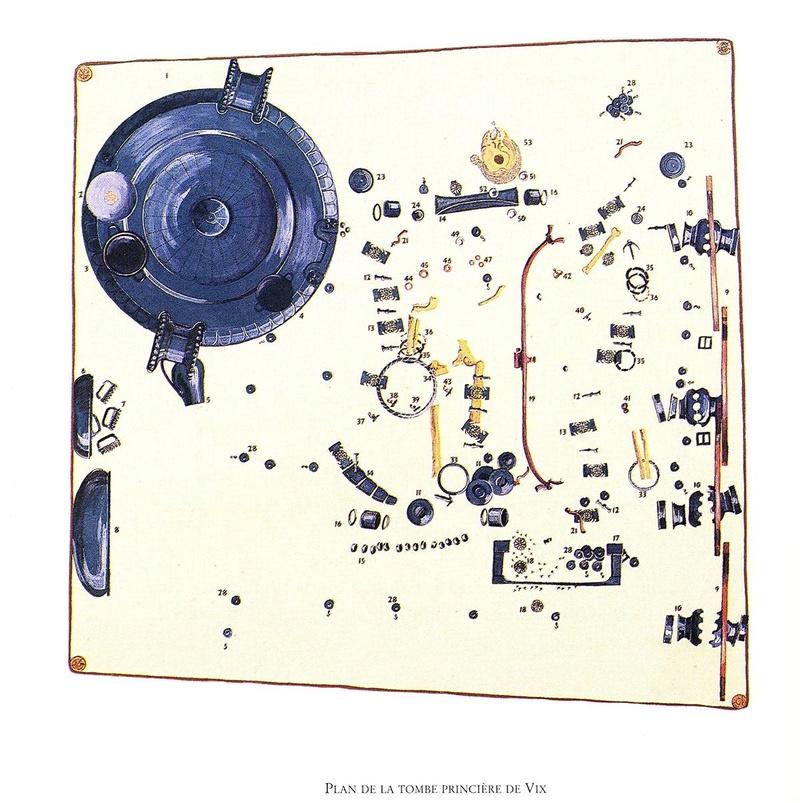[Archéologie] Princesses et princes celtes - Page 2 Vix_0410