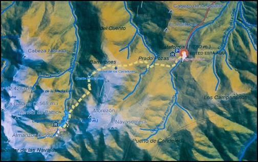 [Espagne] Randonnée La Plataforma - Laguna Grande (Sierra de Gredos) Itinyr10