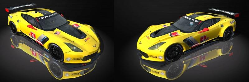 AMS EEC GTE Corvette C7R IMSA Skins C7r10