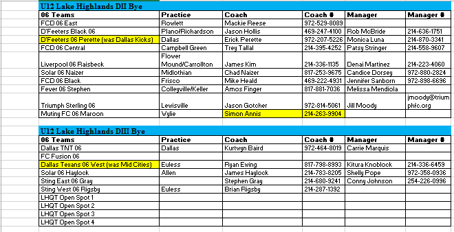 06 Team Listing - June 14, 2017 1110