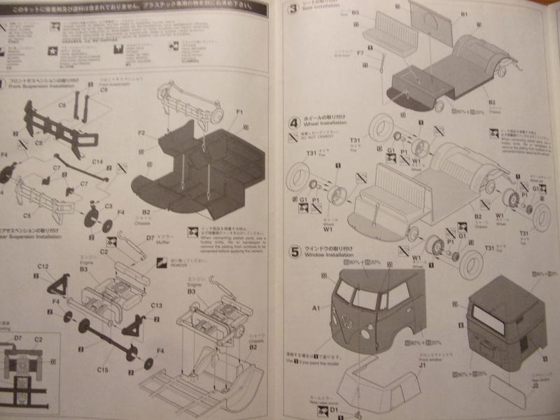 volkswagen Type1 1967 [HASEGAWA - 1/24éme] 102_4960