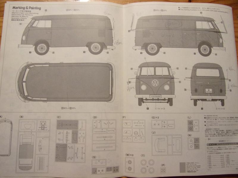 volkswagen Type1 1967 [HASEGAWA - 1/24éme] 102_4962