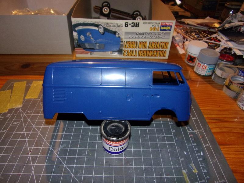 volkswagen Type1 1967 [HASEGAWA - 1/24éme] 102_4966