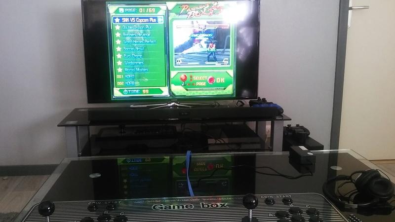 Test Arcade Box avec Pandora's Box 4s Instal10