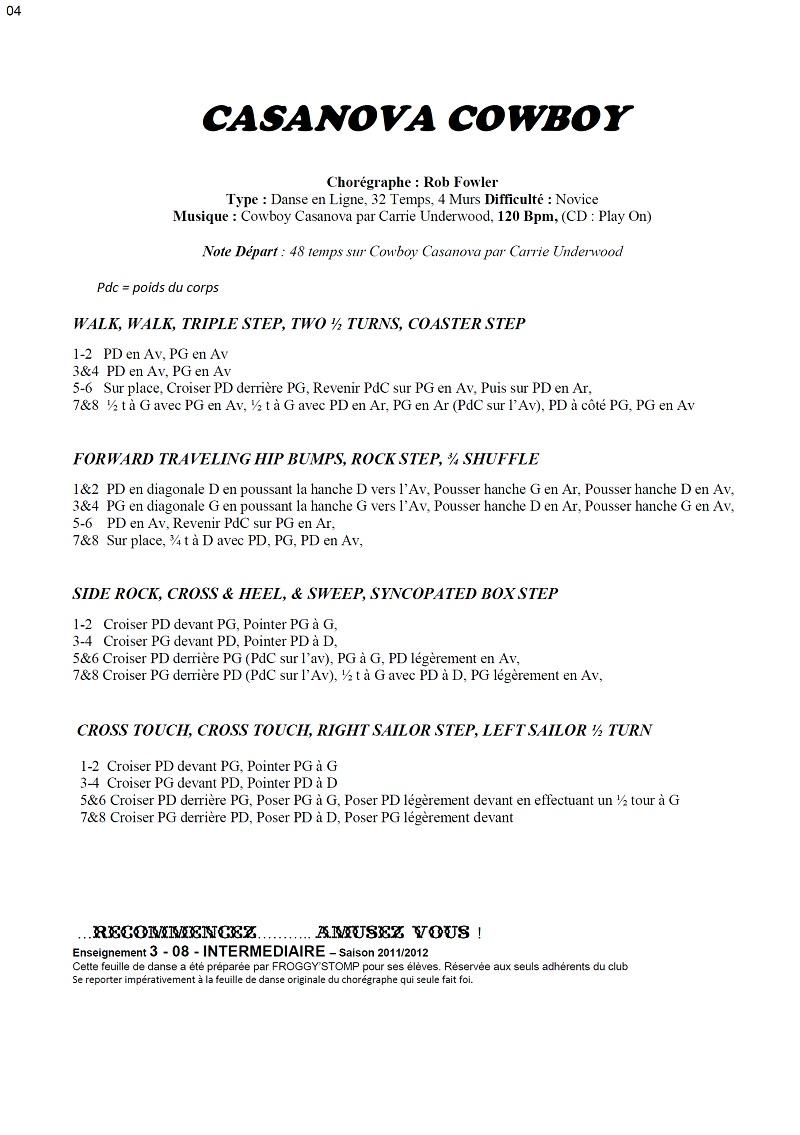 2011/ 2012 CHOREGRAPHIES DEBUTANTS NOVICES INTERMEDIAIRES 04_i11