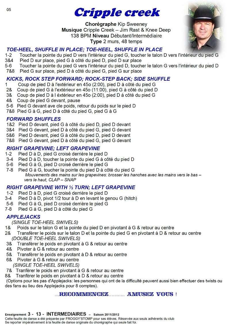 2011/ 2012 CHOREGRAPHIES DEBUTANTS NOVICES INTERMEDIAIRES 05_i11