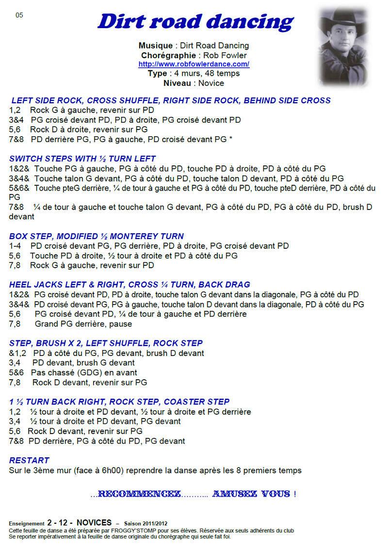 2011/ 2012 CHOREGRAPHIES DEBUTANTS NOVICES INTERMEDIAIRES 05_n_e11
