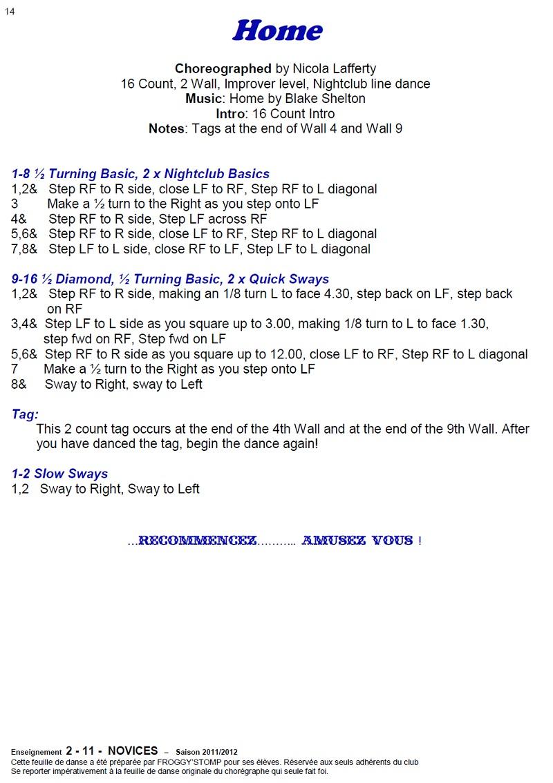 2011/ 2012 CHOREGRAPHIES DEBUTANTS NOVICES INTERMEDIAIRES 14_n11