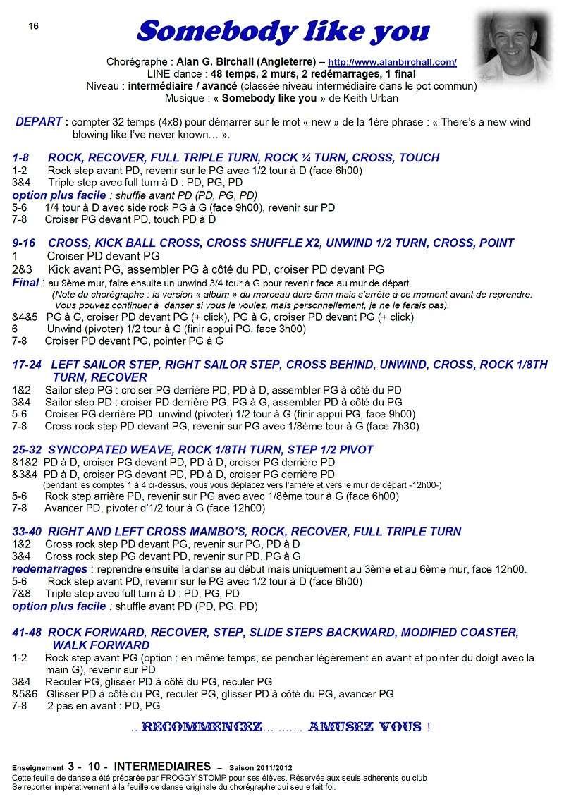 2011/ 2012 CHOREGRAPHIES DEBUTANTS NOVICES INTERMEDIAIRES 16_i_11