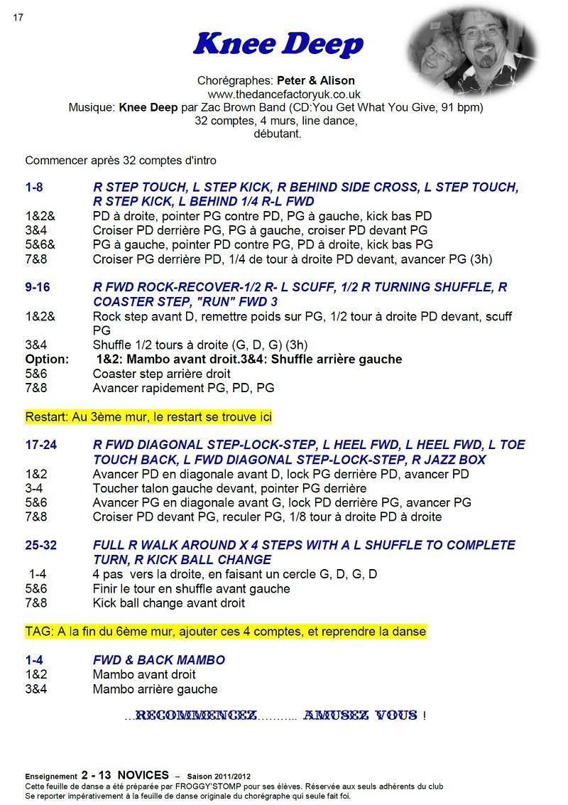 2011/ 2012 CHOREGRAPHIES DEBUTANTS NOVICES INTERMEDIAIRES 17_n11