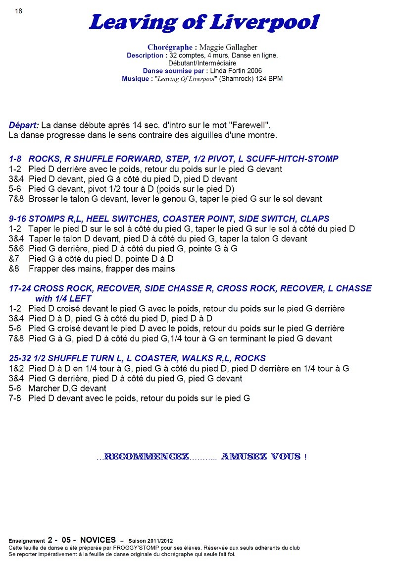 2011/ 2012 CHOREGRAPHIES DEBUTANTS NOVICES INTERMEDIAIRES 18_n12