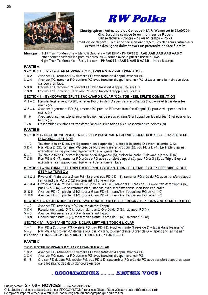 2011/ 2012 CHOREGRAPHIES DEBUTANTS NOVICES INTERMEDIAIRES 25_n_12