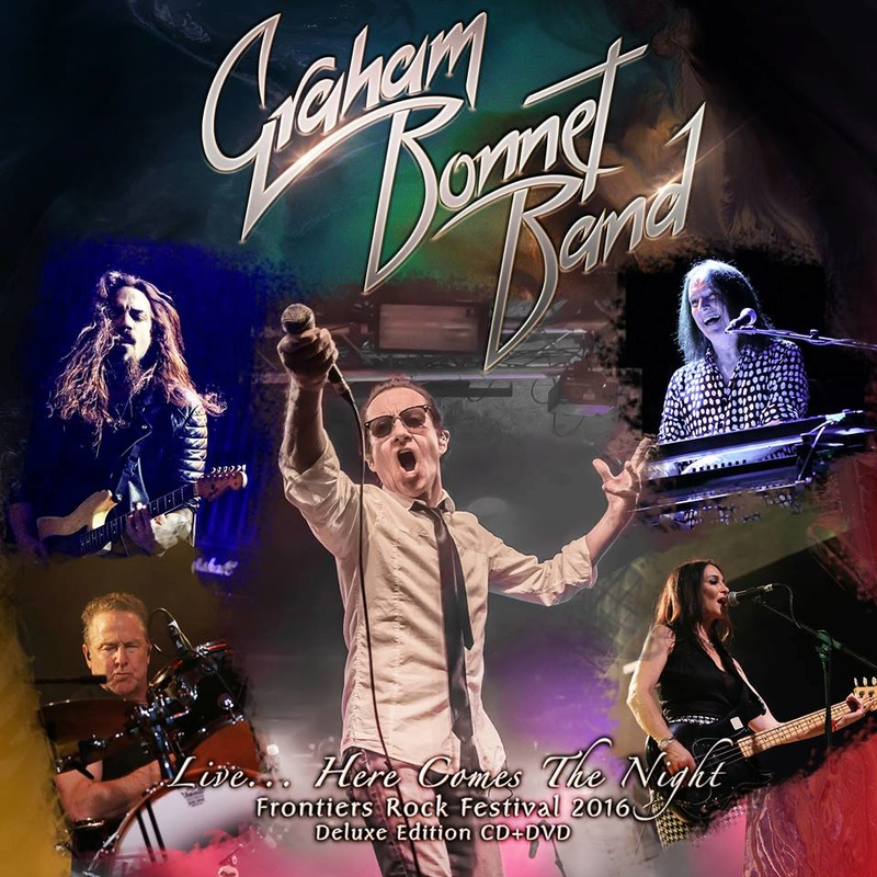 GRAHAM BONNET - Live...Here Comes The Night (2017) 18119410