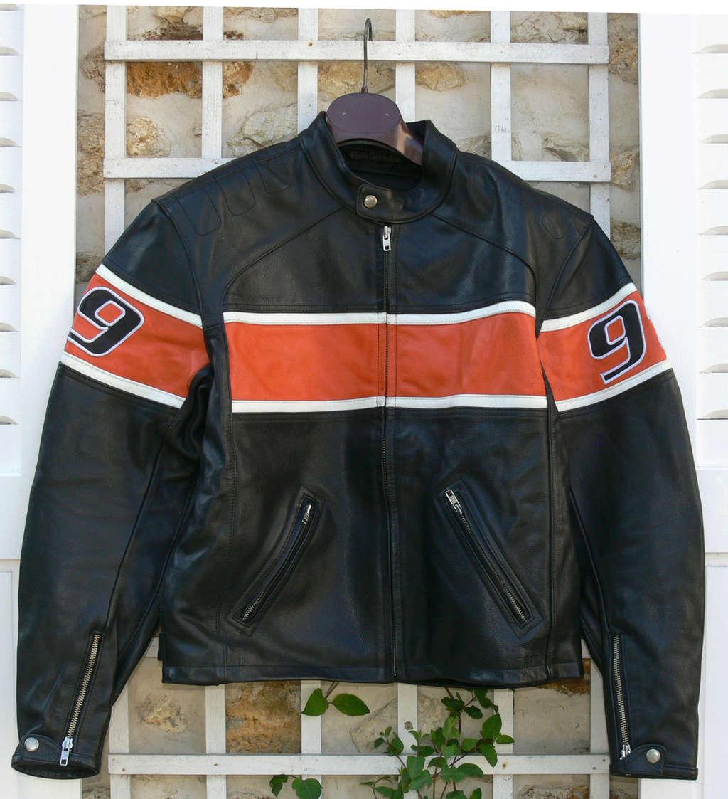 Blouson cuir GERICKE vintage état neuf. Blouso11