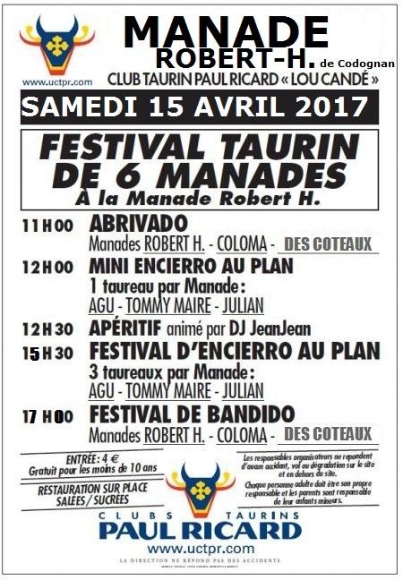 """le 15 Avril 2017 """"2ième Festival de 6 Manades"""" Manade12"""