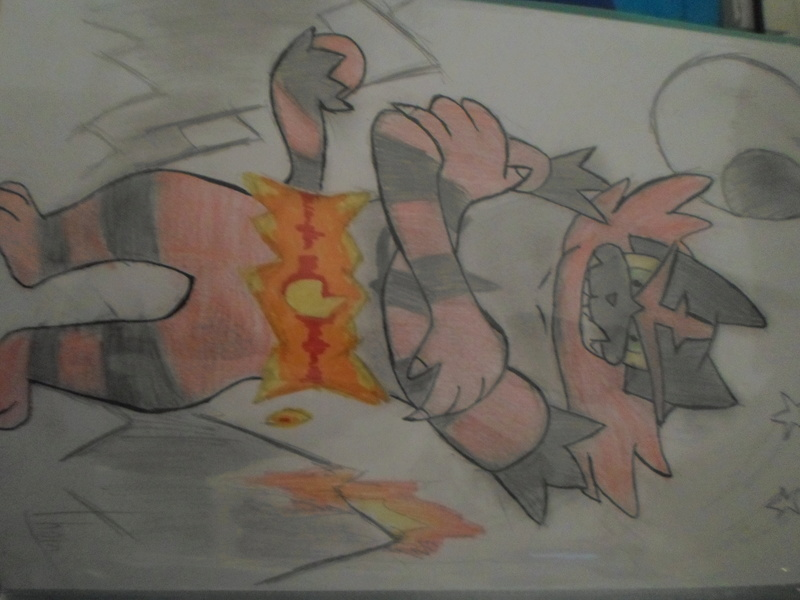 Quand Thomtom rencontre ses amis les crayons... Felinf11