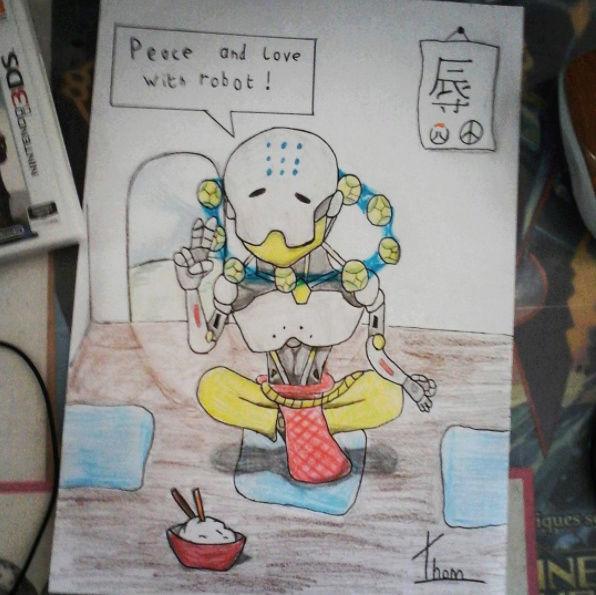 Quand Thomtom rencontre ses amis les crayons... Zenyat10
