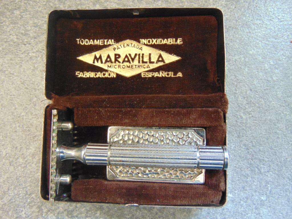 Rasoir MARAVILLA, fabrication Espagnole. Dsc06017