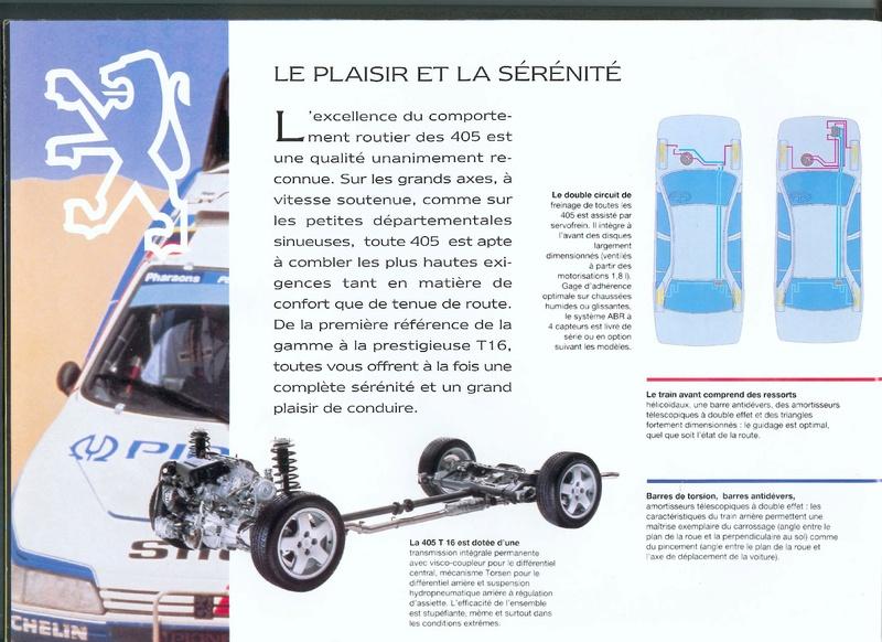 Brochure d'époque gamme 405 (1994) Brochu13