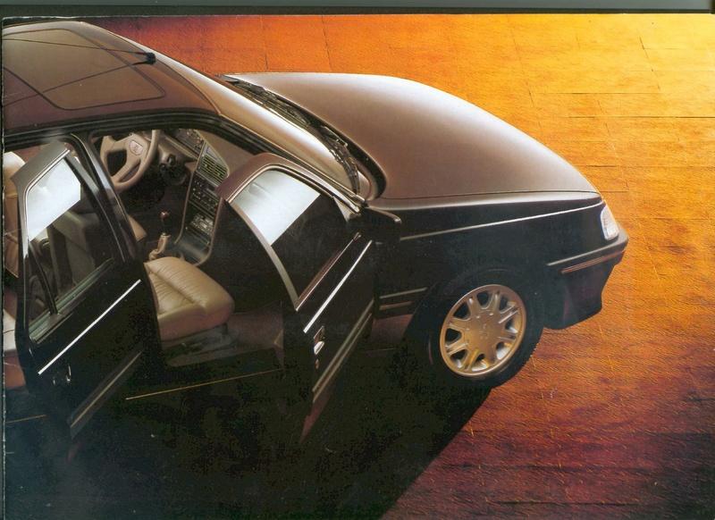 Brochure d'époque gamme 405 (1994) Brochu14