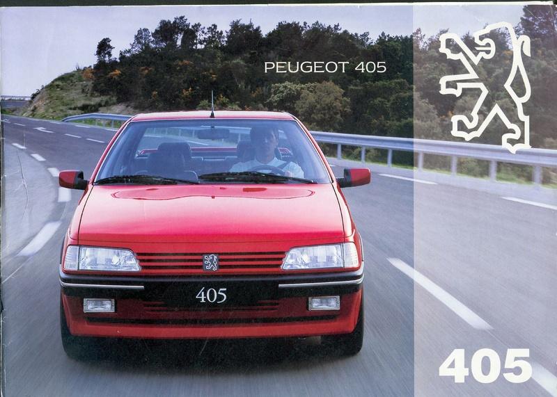 Brochure d'époque gamme 405 (1994) Brochu15