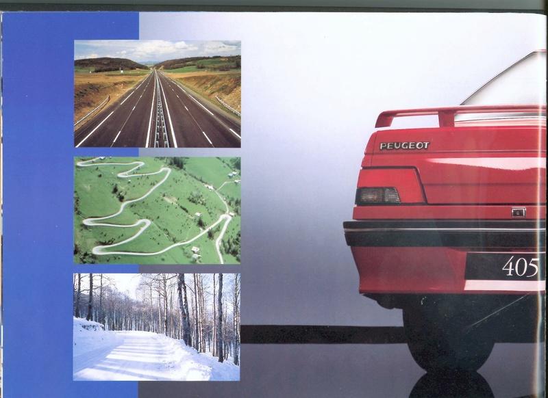 Brochure d'époque gamme 405 (1994) Brochu20