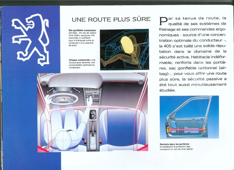 Brochure d'époque gamme 405 (1994) Brochu24