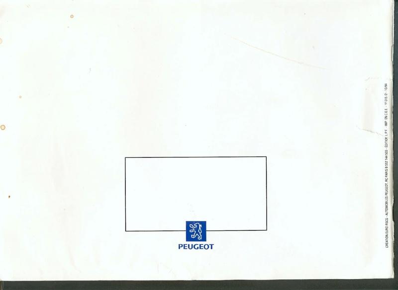 Brochure d'époque gamme 405 (1994) Brochu28