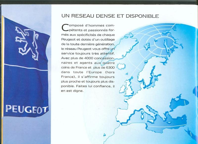 Brochure d'époque gamme 405 (1994) Brochu30
