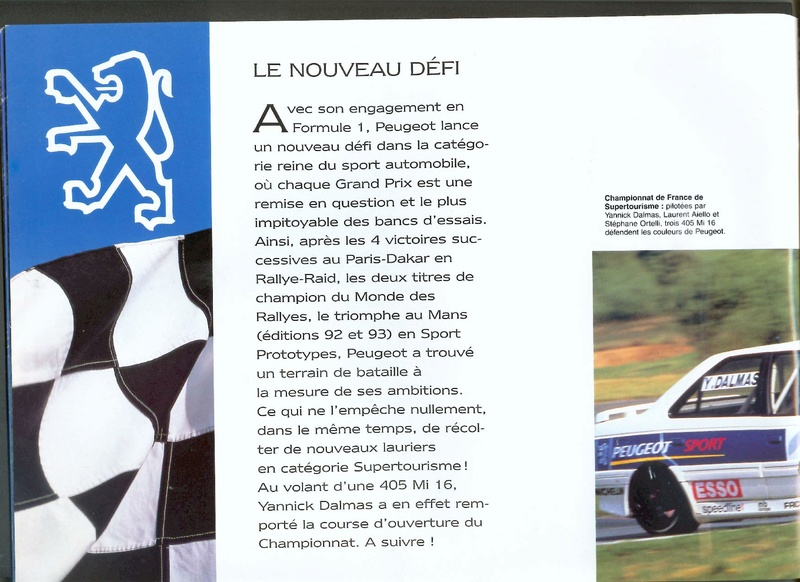 Brochure d'époque gamme 405 (1994) Brochu31