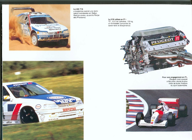 Brochure d'époque gamme 405 (1994) Brochu32