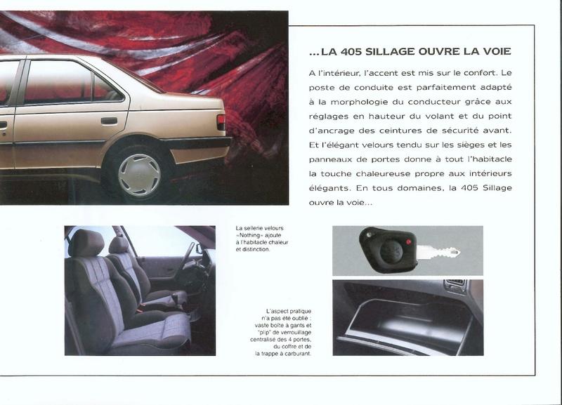 Brochure d'époque gamme 405 (1994) Brochu36