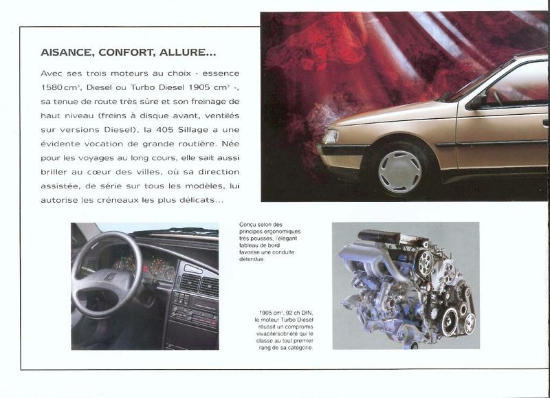 Brochure d'époque gamme 405 (1994) Brochu37