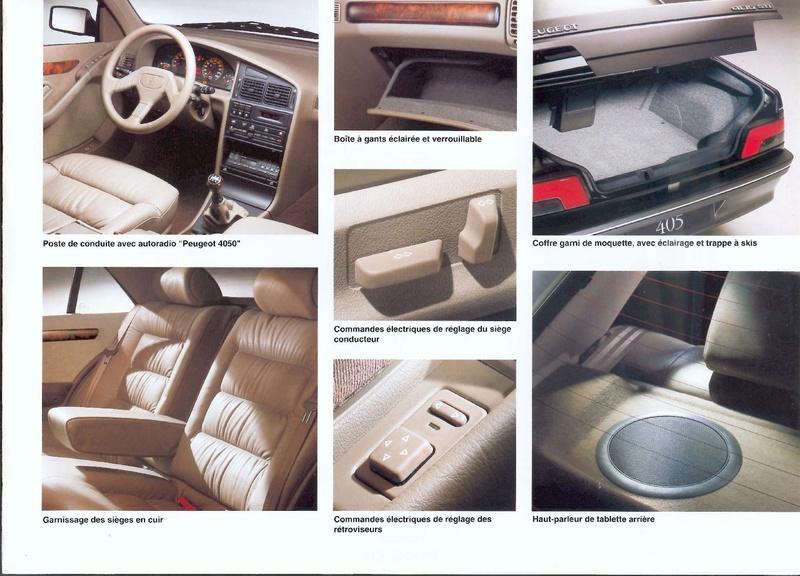 Brochure d'époque gamme 405 (1994) Brochu51