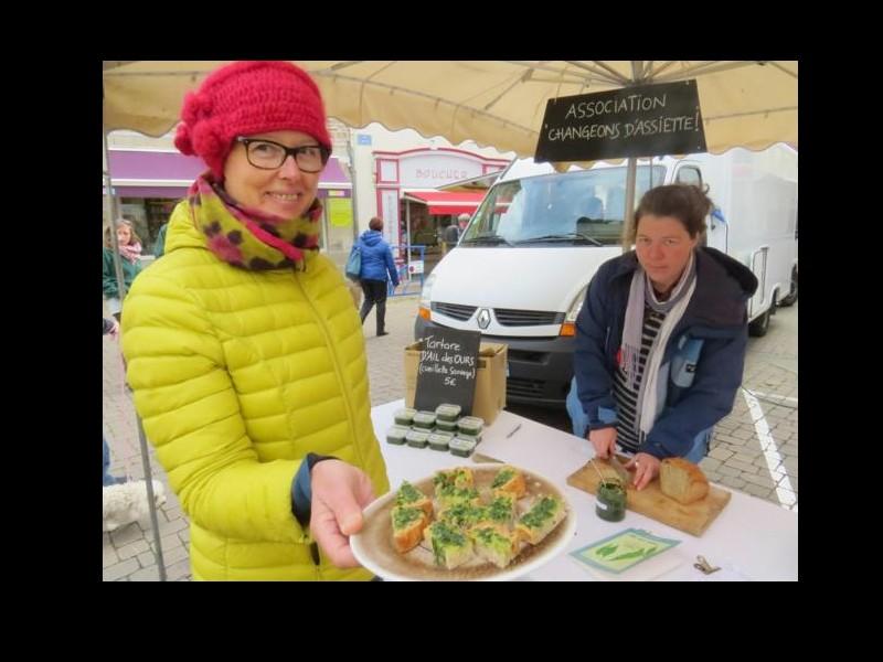 PLOUHA   Cours de cuisine végétarienne : avec Valérie Chauvin, changeons d'assiette ! F12