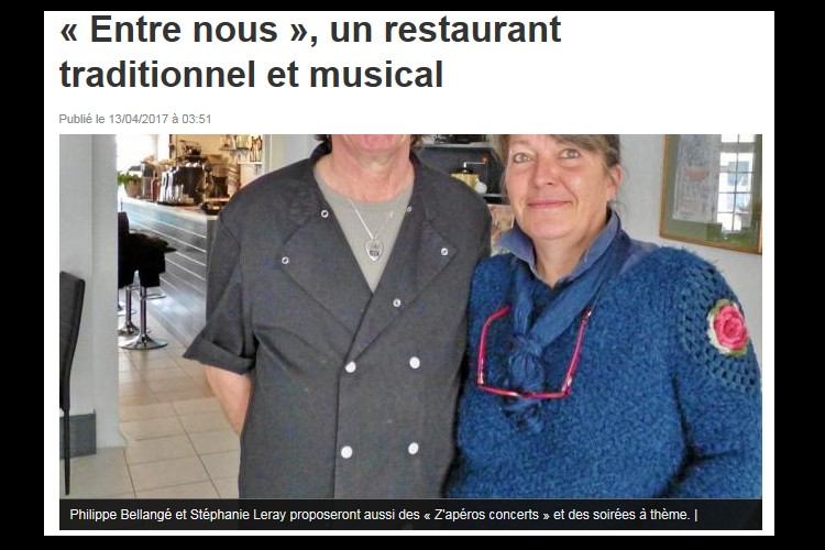 PLOUHA  « Entre nous », un restaurant traditionnel et musical  Sans_620
